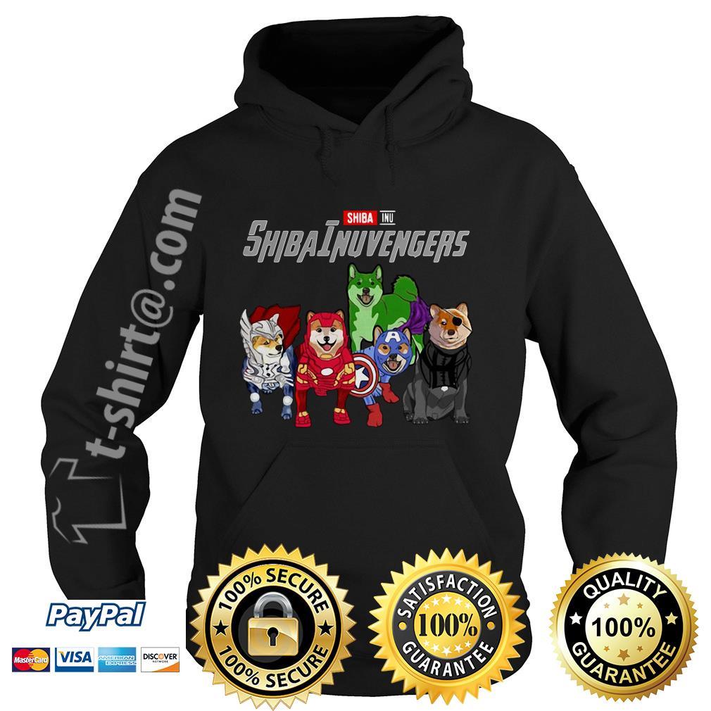 Marvel Shiba Inu ShibaInuvengers Hoodie