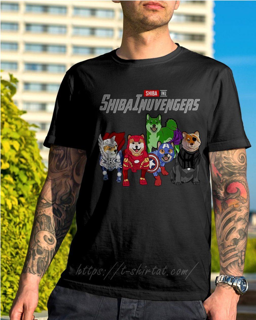 Marvel Shiba Inu ShibaInuvengers shirt