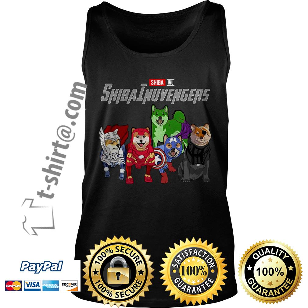 Marvel Shiba Inu ShibaInuvengers Tank top