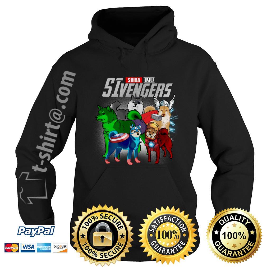 Marvel Shiba Inu SIvengers Hoodie