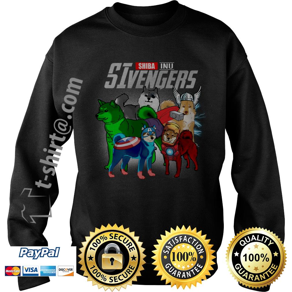 Marvel Shiba Inu SIvengers Sweater