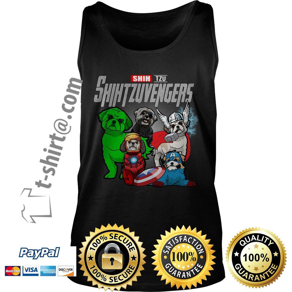 Marvel Shih Tzu Shihtzuvengers Tank top