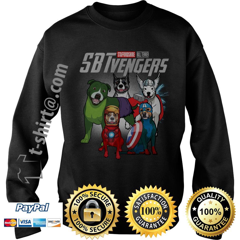 Marvel Staffordshire Bull Terrier SBTvengers Sweater