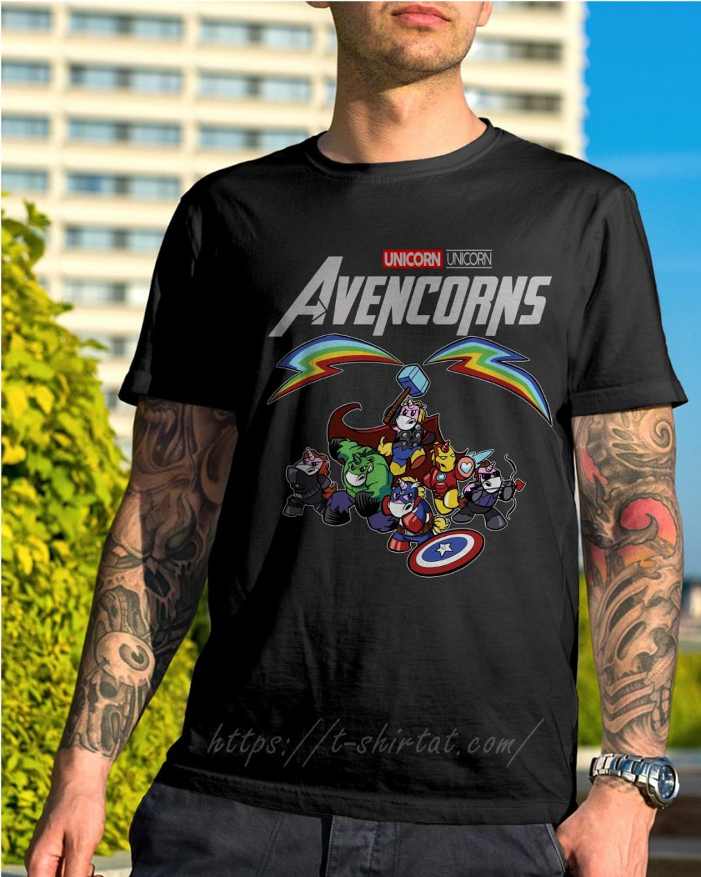 Marvel Unicorn Avencorns shirt