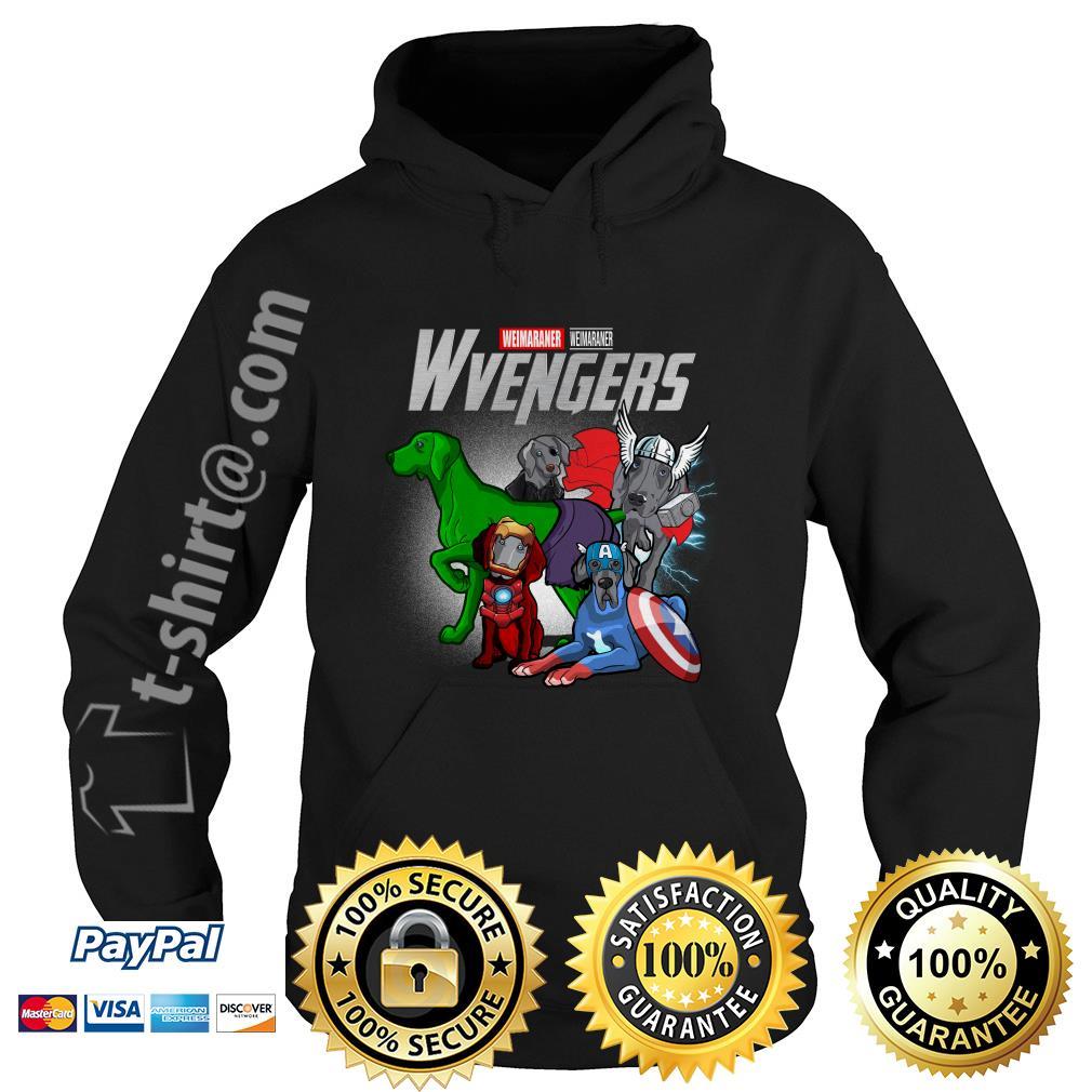 Marvel Weimaraner Wvengers Hoodie