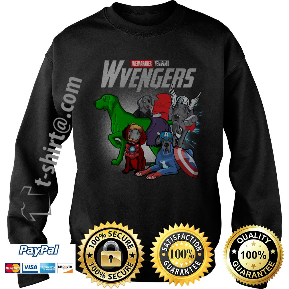 Marvel Weimaraner Wvengers Sweater