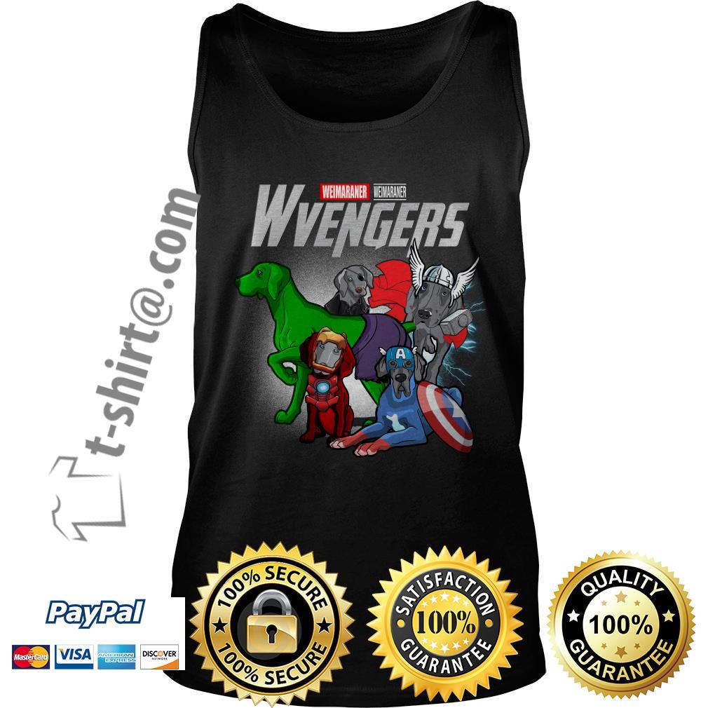 Marvel Weimaraner Wvengers Tank top