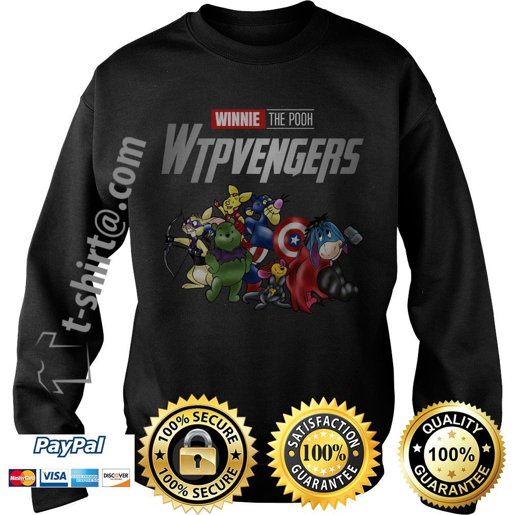 Marvel Winnie the Pooh Wtpvengers Sweater
