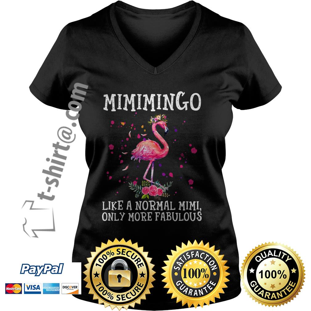 Mimimingo like a normal Mimi only more fabulous V-neck T-shirt
