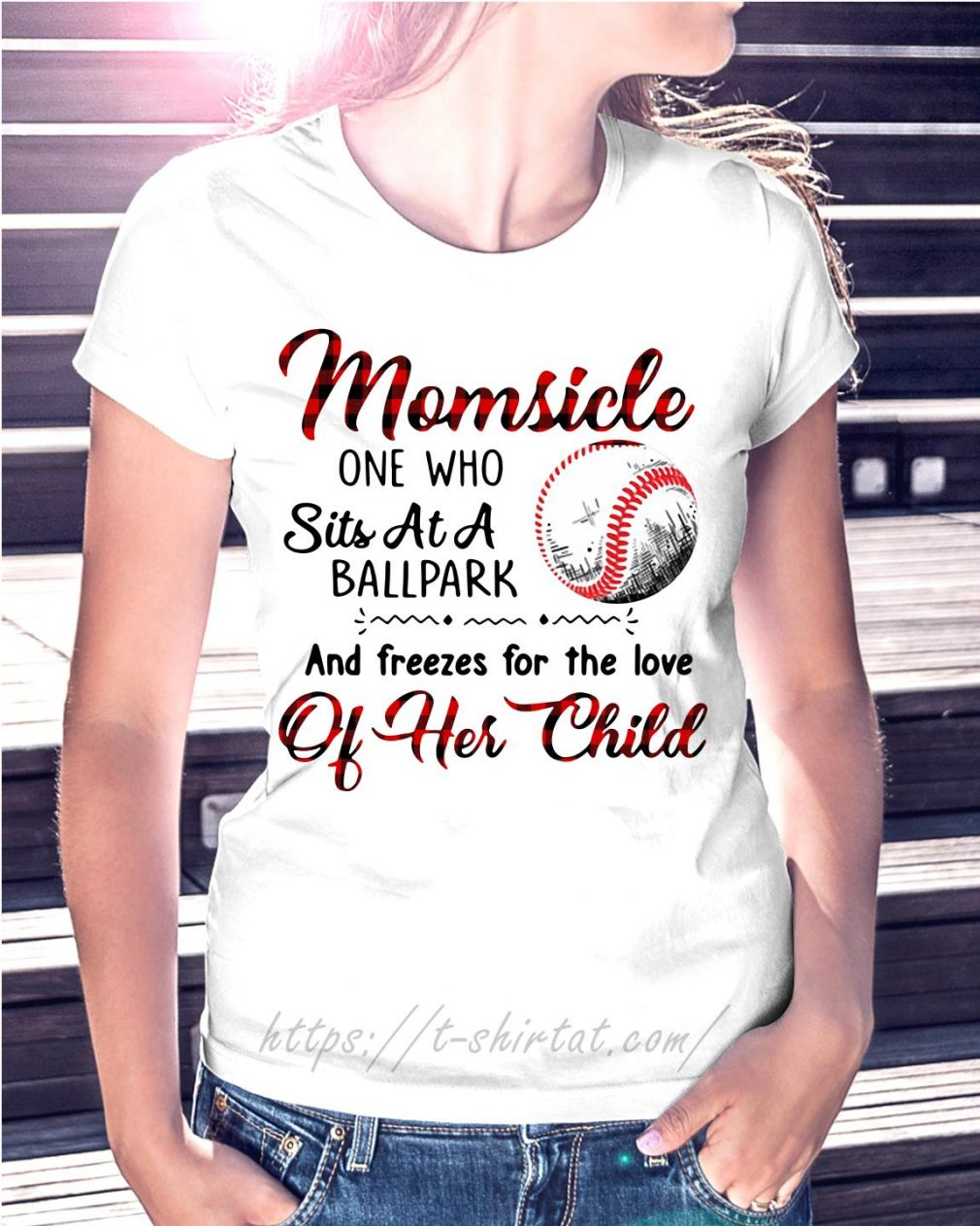 Momsicle one who sits at a ballpark and freezes for the love of her child