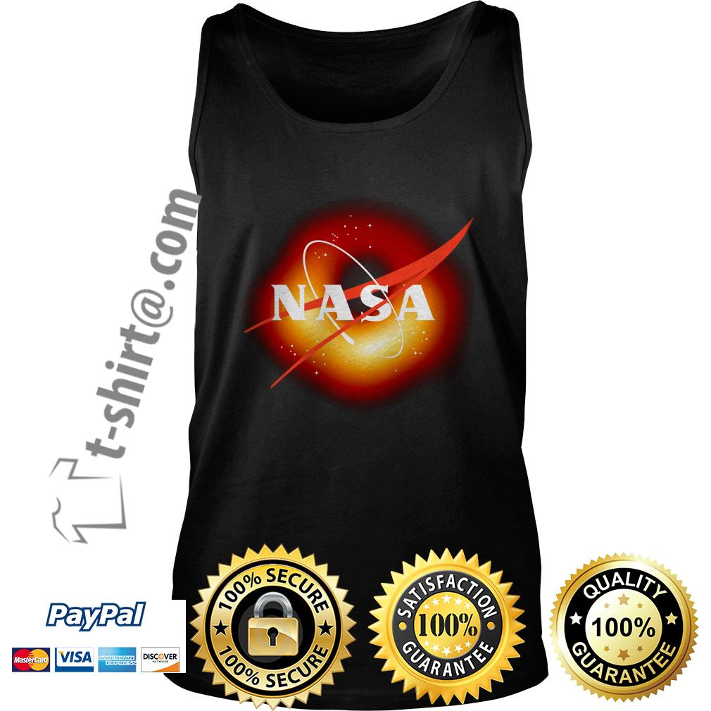 NASA first image of a black hole 2019 Tank top