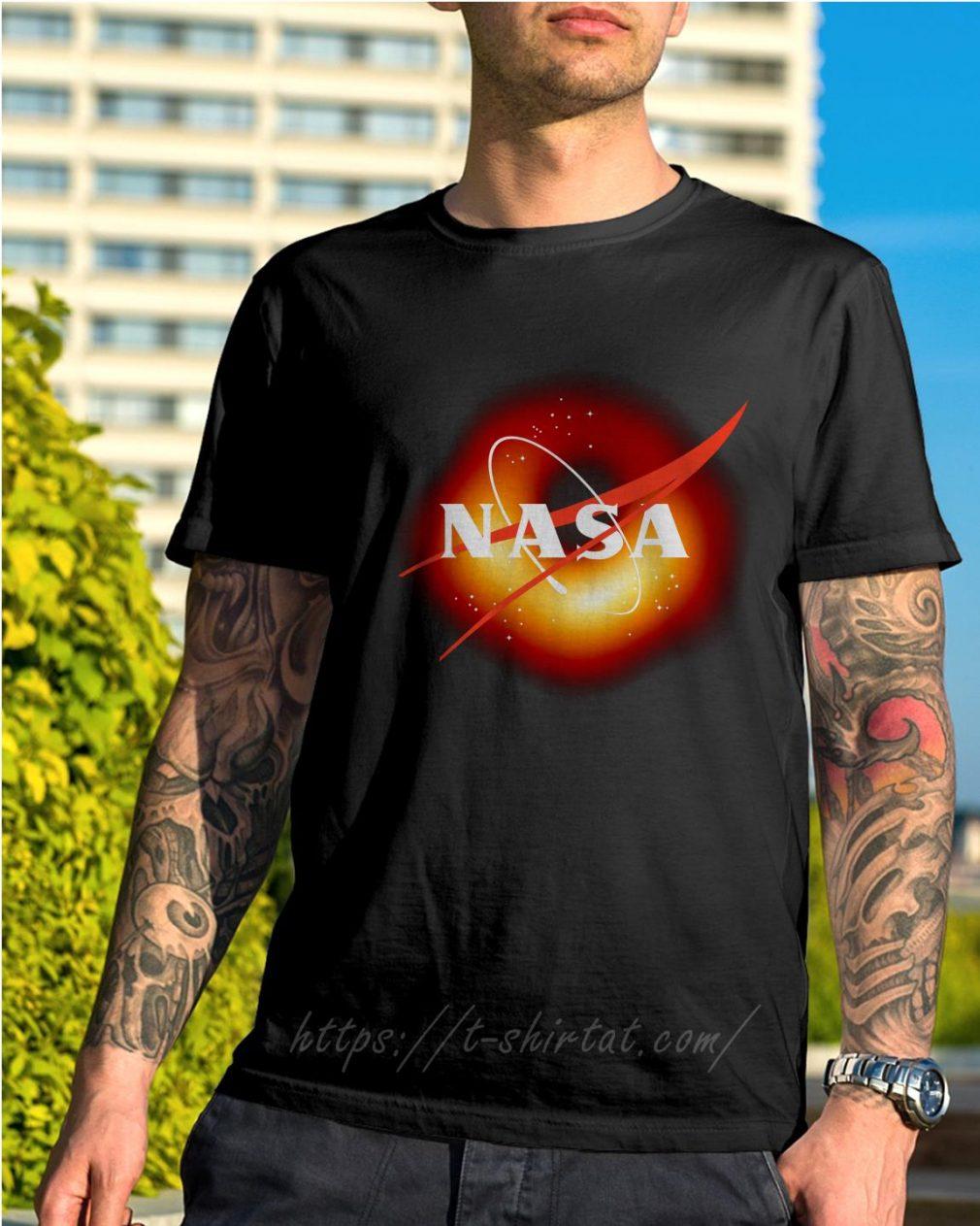 NASA first image of a black hole 2019 shirt