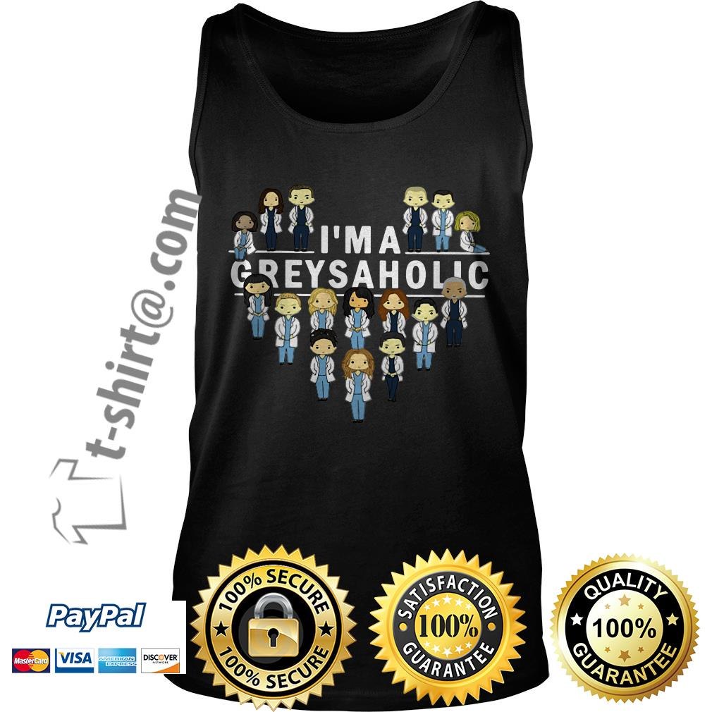 Nurse and doctor I'm a greysaholic Tank top