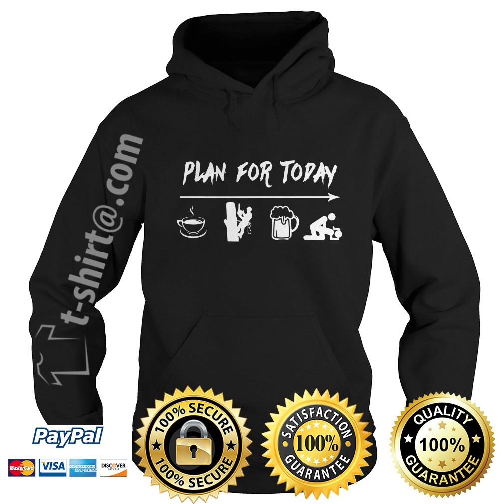 Plan for today I like coffee electric worker beer and sex Hoodie