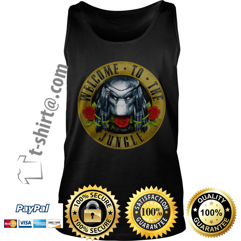Predator welcome to the jungle Tank top