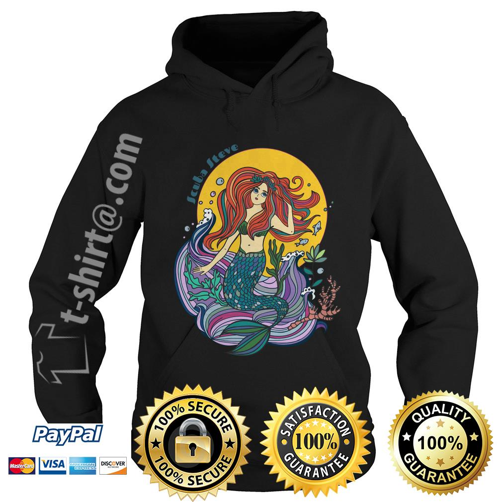 Scuba Steve mermaid Hoodie
