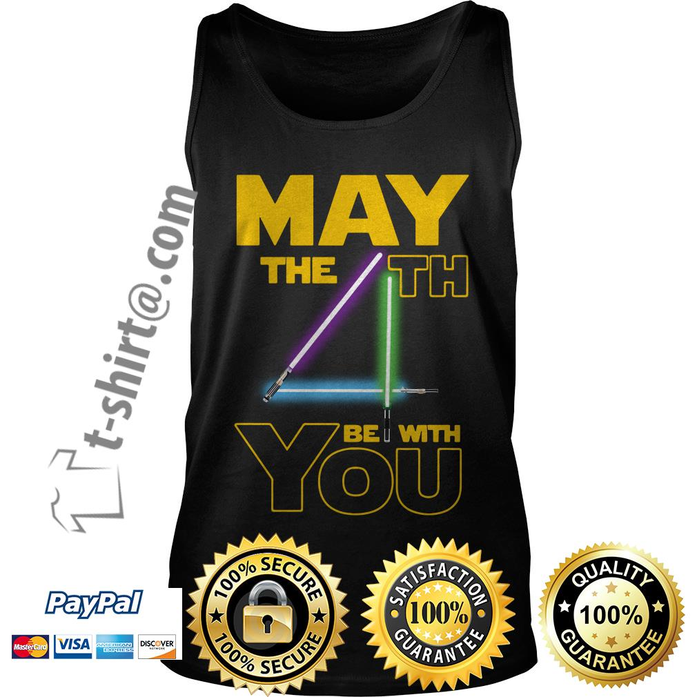 Star wars may the 4th be with you Tank top