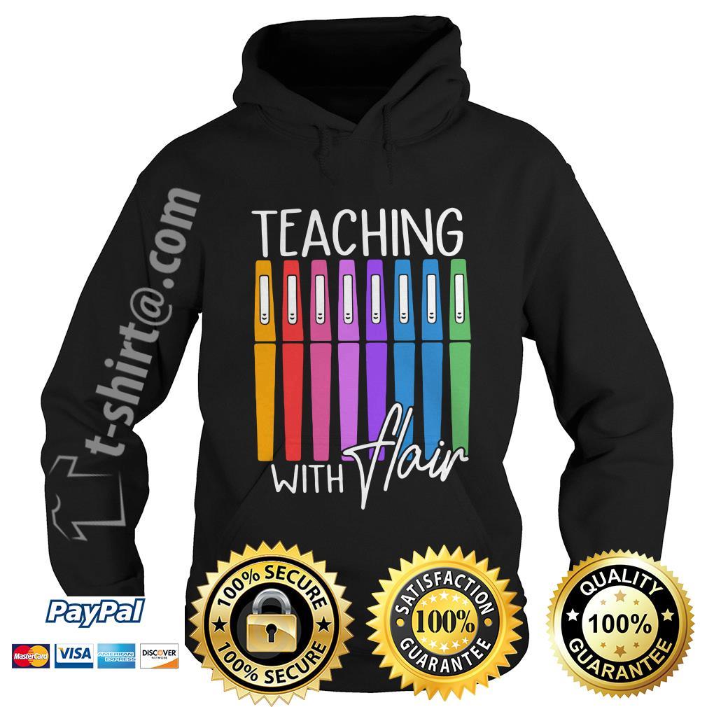 Teaching with flair Hoodie
