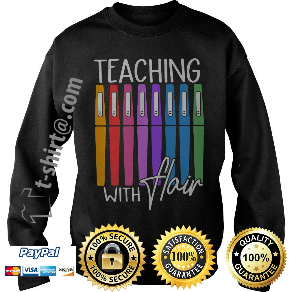 Teaching with flair Sweater
