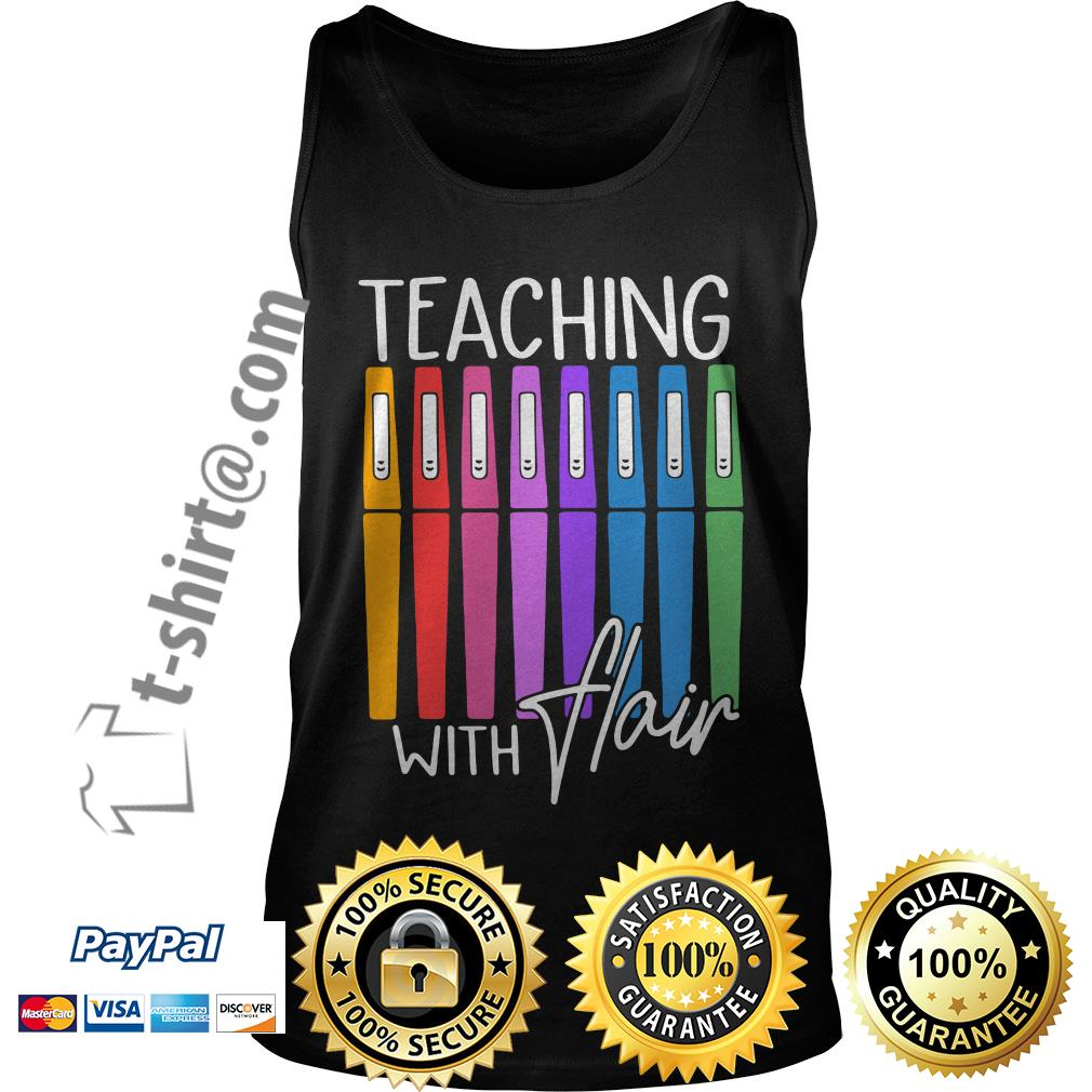 Teaching with flair Tank top