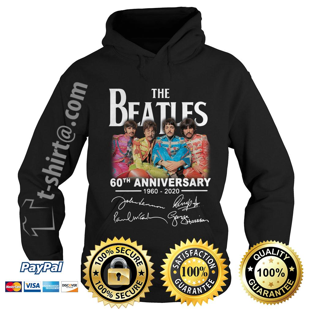 The Beatles 60th anniversary 1960-2020 signature Hoodie