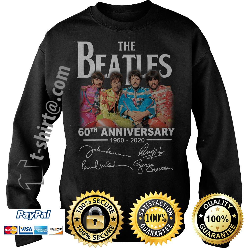 The Beatles 60th anniversary 1960-2020 signature Sweater