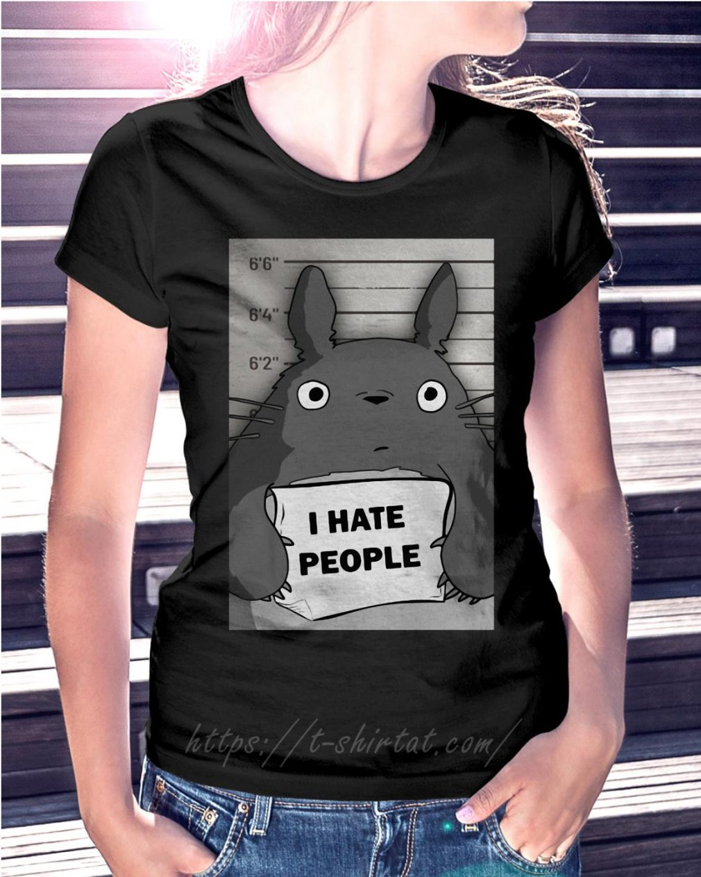 Totoro I hate people
