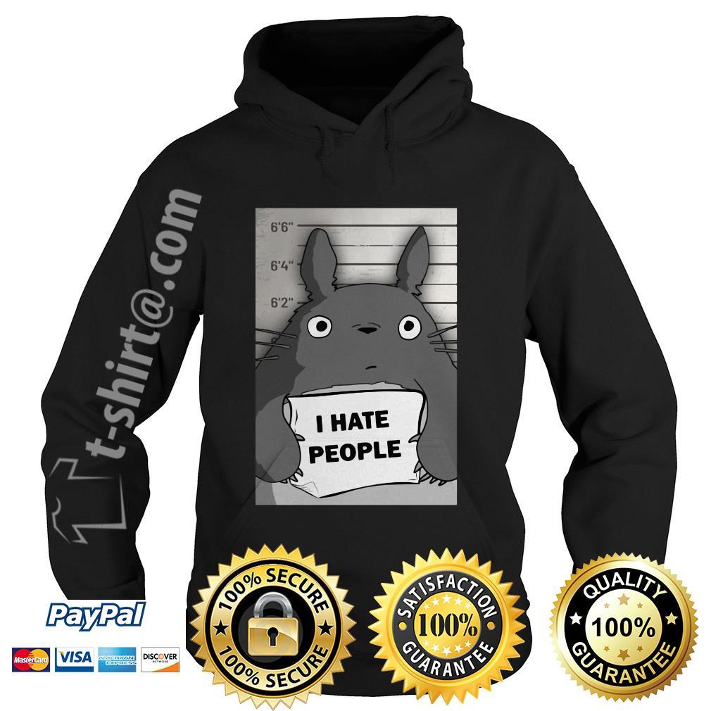 Totoro I hate people Hoodie