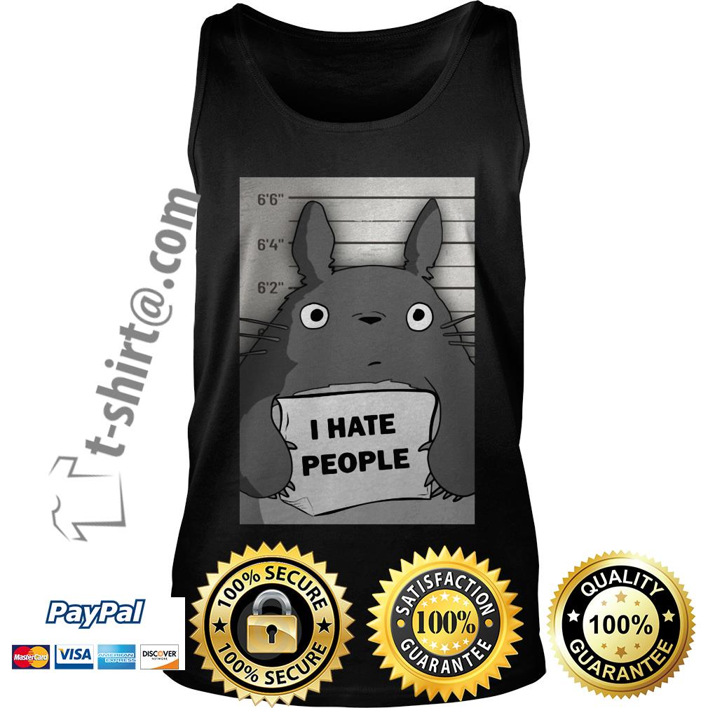 Totoro I hate people Tank top