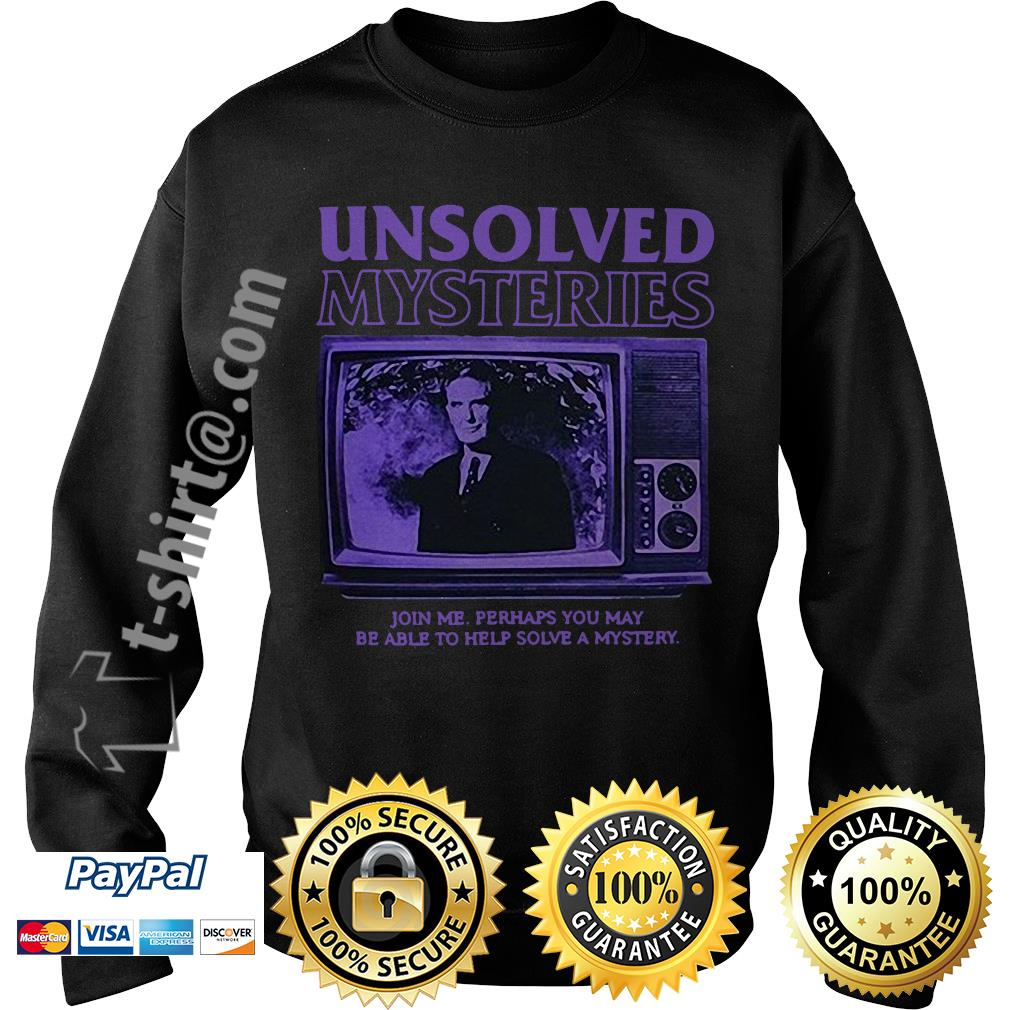 Unsolved Mysteries join me perhaps you may be able to help solve a mystery Sweater