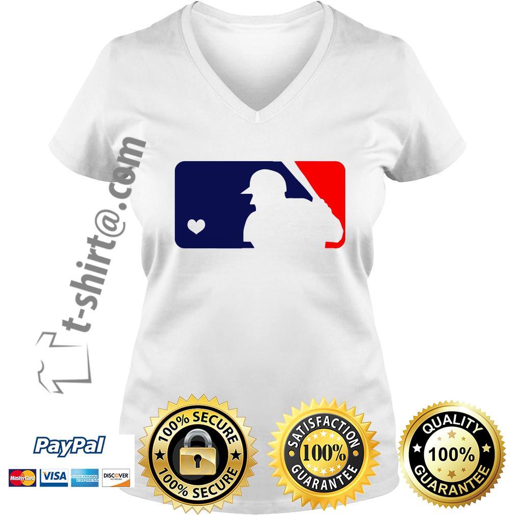 USA Donald Trump live love baseball V-neck T-shirt