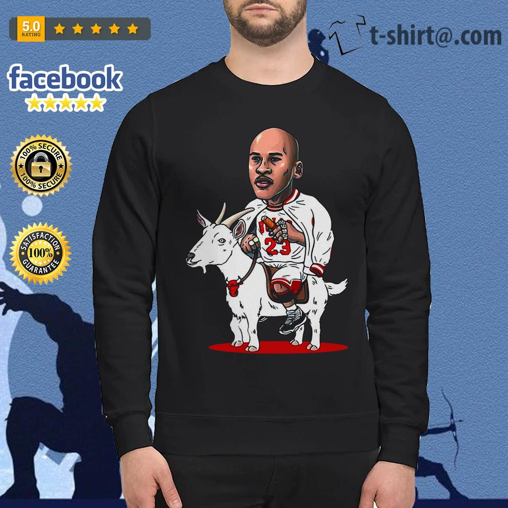 23 Michael Jordan riding goat Sweater