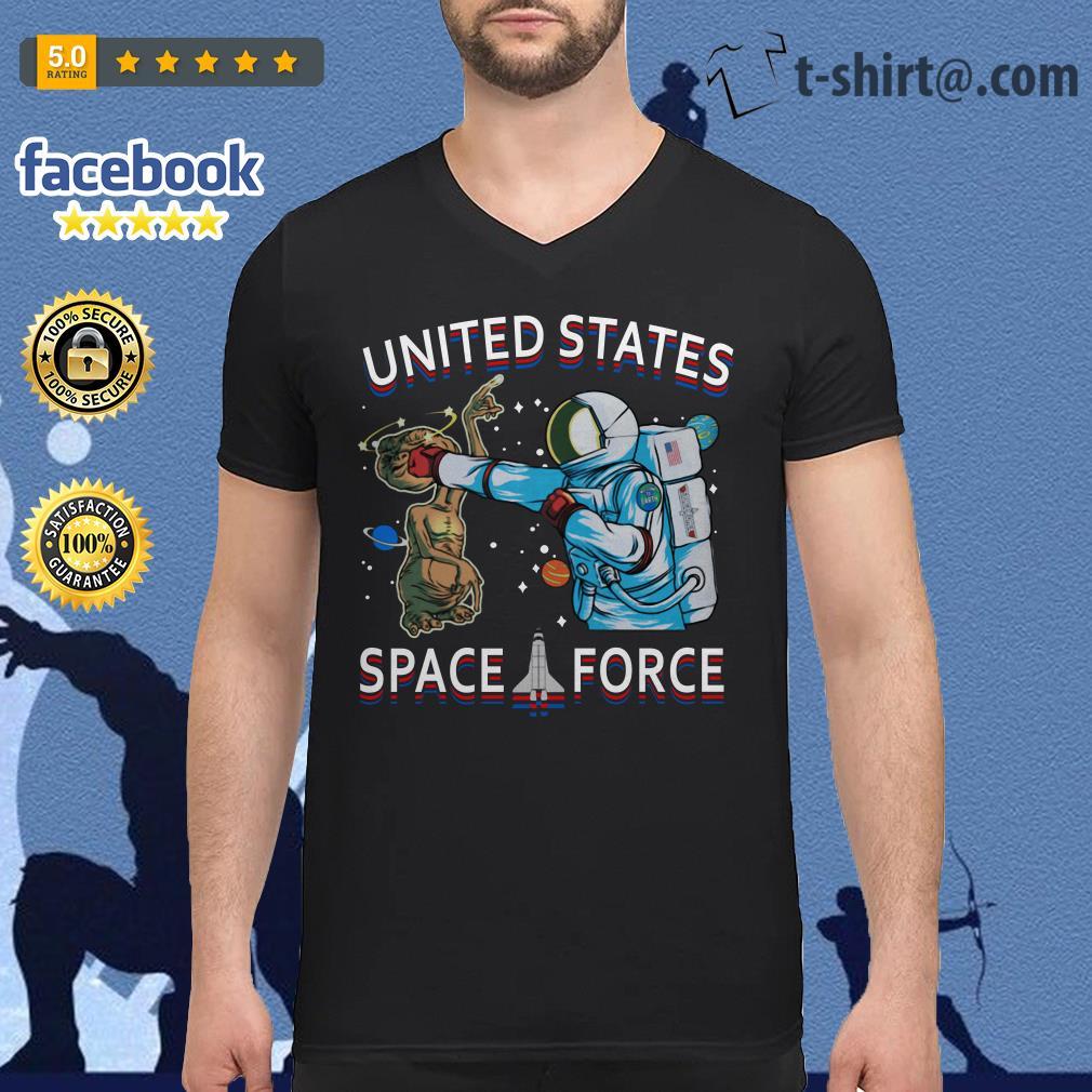 Alien United States space force V-neck T-shirt