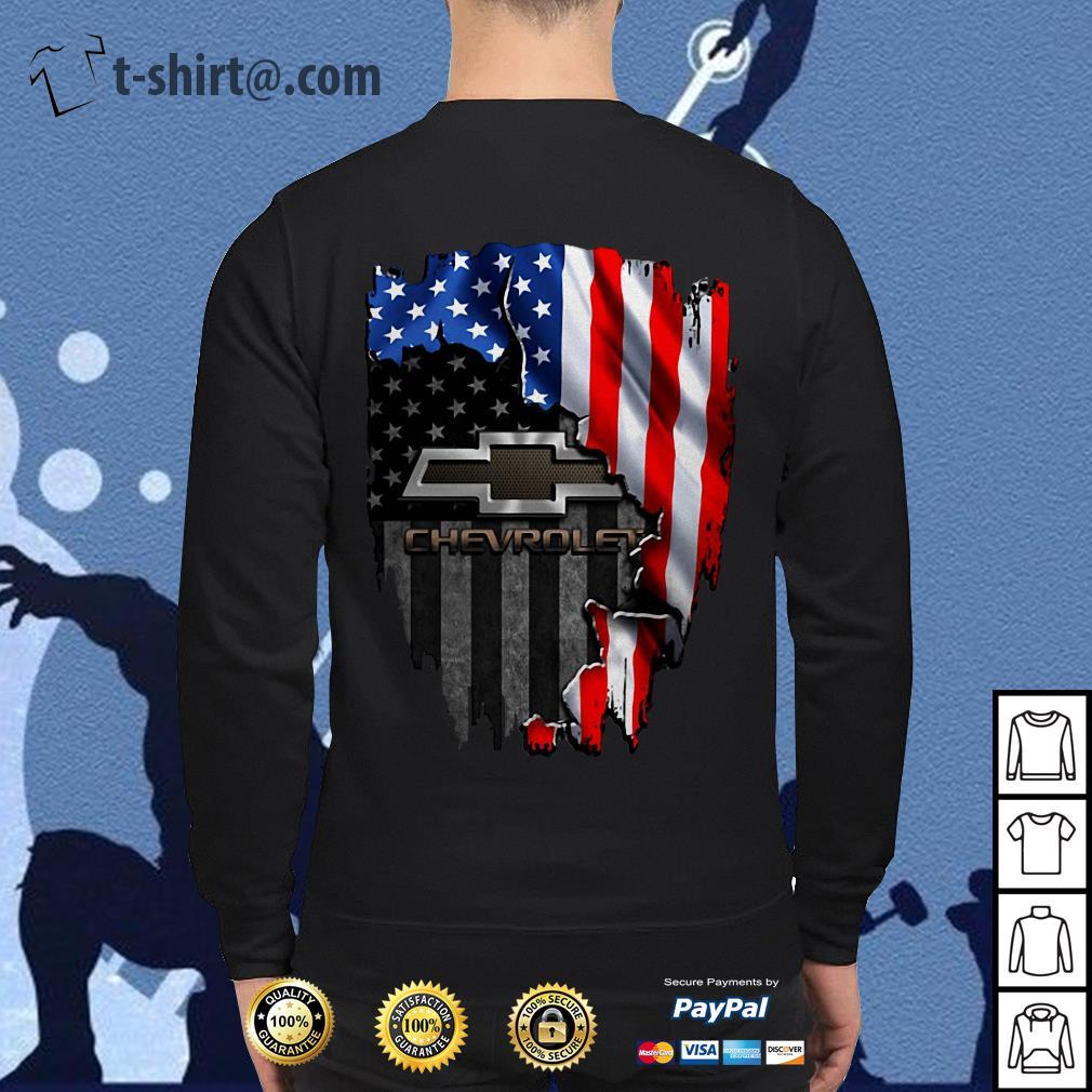 American flag Chevrolet Sweater