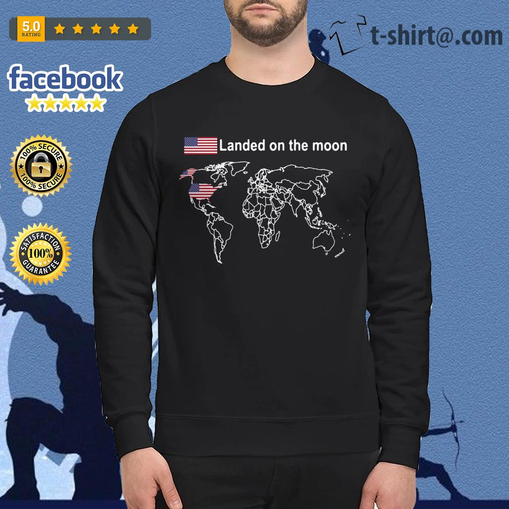 American landed on the moon Sweater