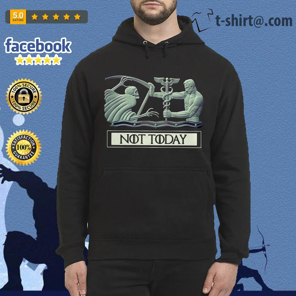 Angel and Devil not today Game of Thrones Hoodie