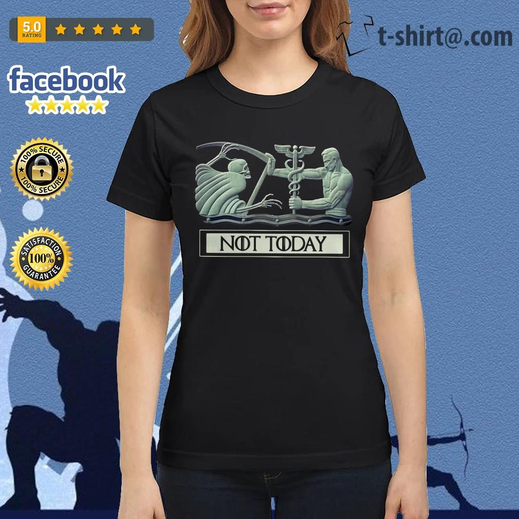 Angel and Devil not today Game of Thrones Ladies Tee