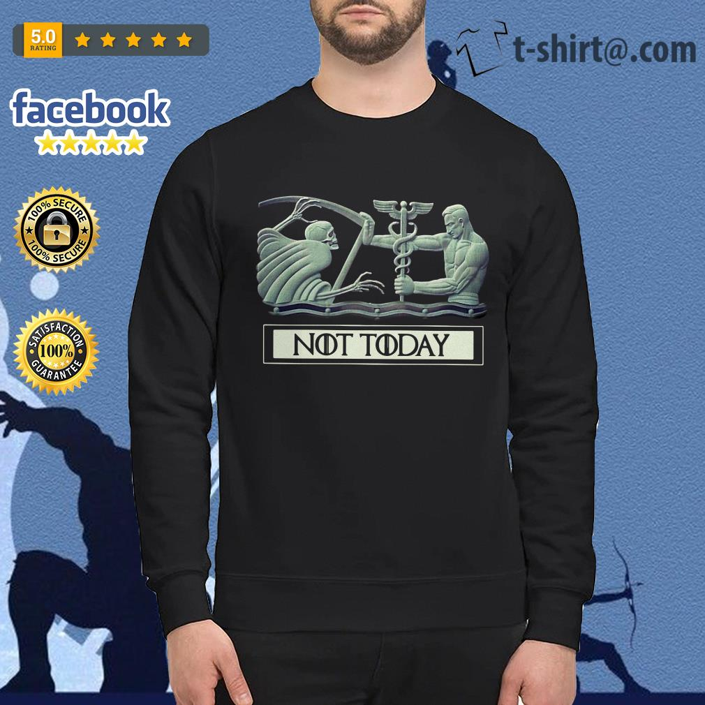 Angel and Devil not today Game of Thrones Sweater