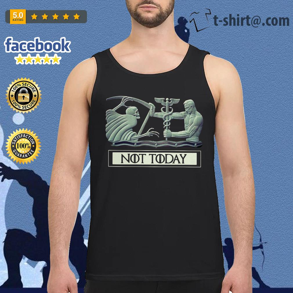 Angel and Devil not today Game of Thrones Tank Top