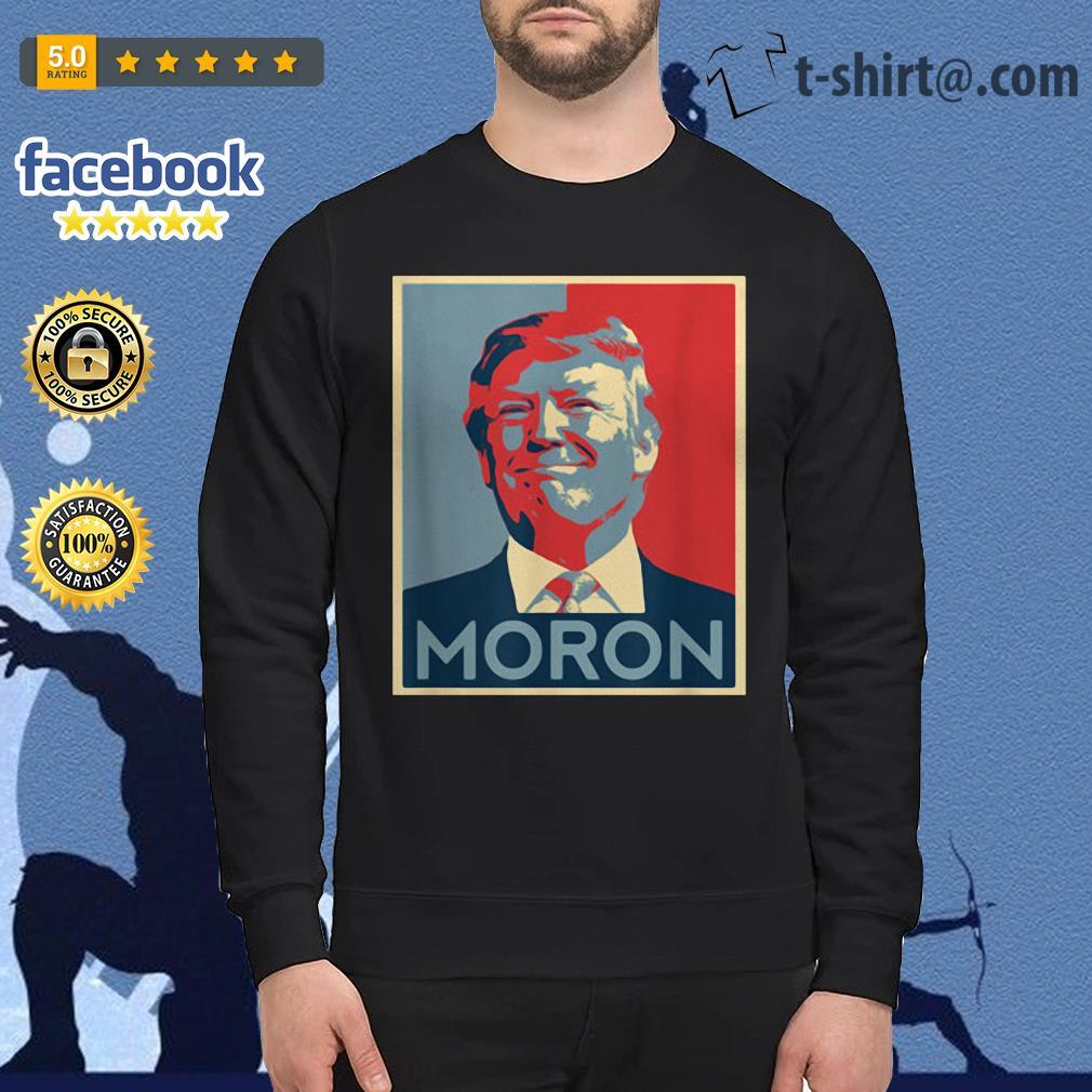 Anti-Trump Moron Sweater