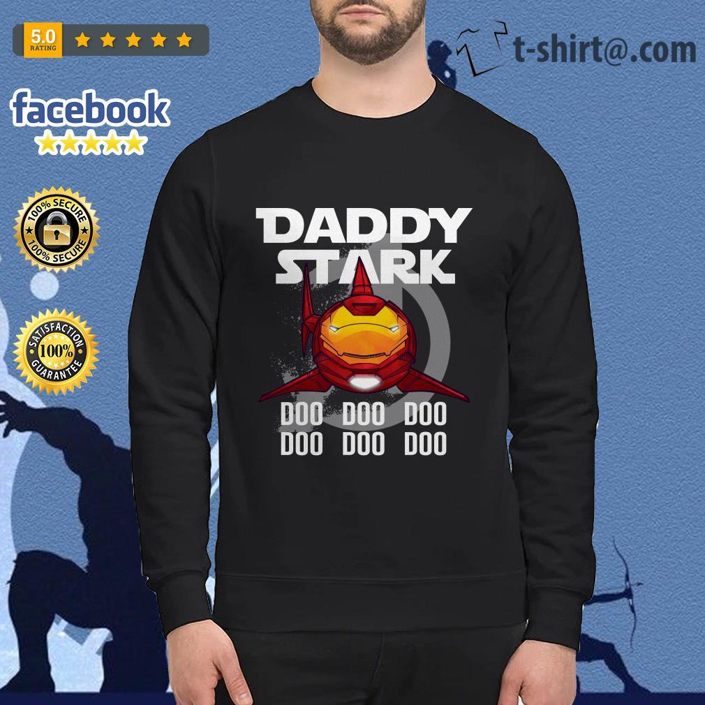 Avengers iron man daddy Stark shark doo doo doo doo doo doo shirt