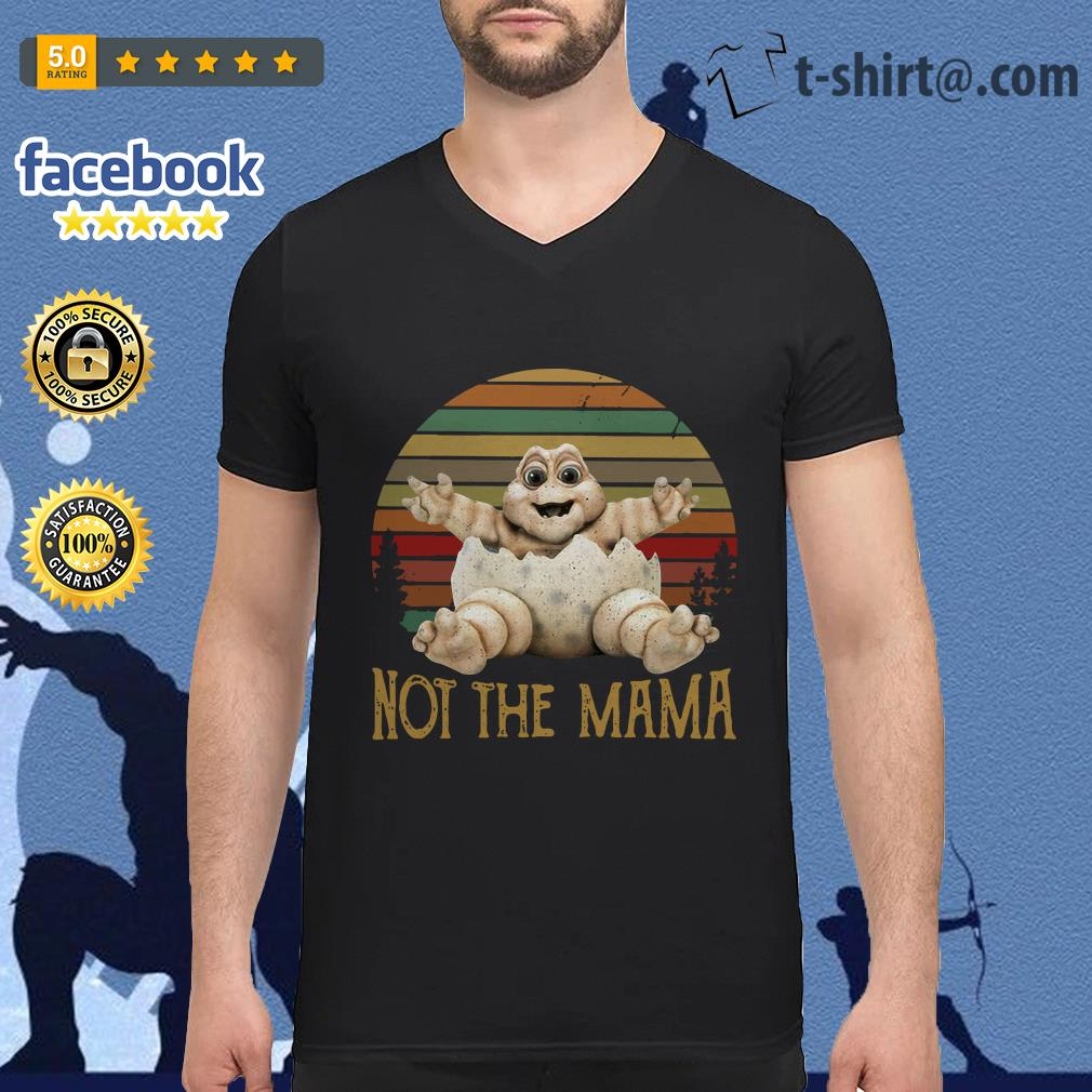 Baby Sinclair TV show 90's not the mama vintage V-neck T-shirt