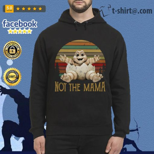Baby Sinclair TV show 90's not the mama vintage Hoodie