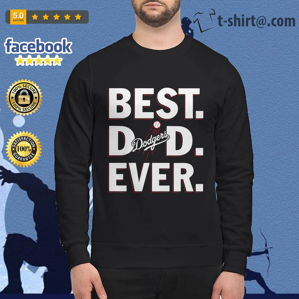 Best dad ever Los Angeles Dodgers Sweater