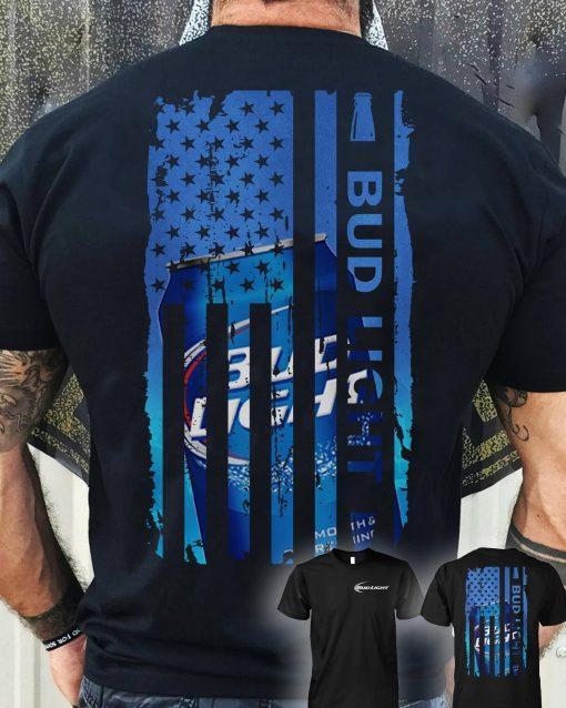 Bud light US flag shirt