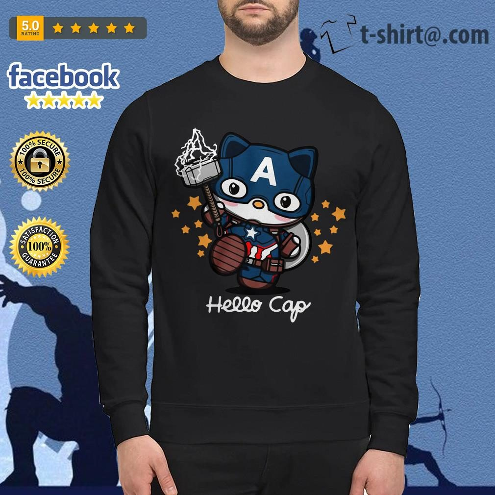 Captain America Hello Caps Sweater