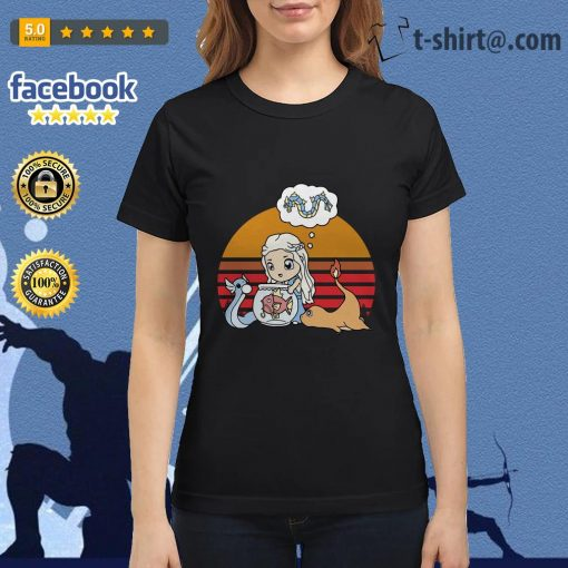 Daenerys Targaryen Mother of Pokemon vintage Ladies Tee