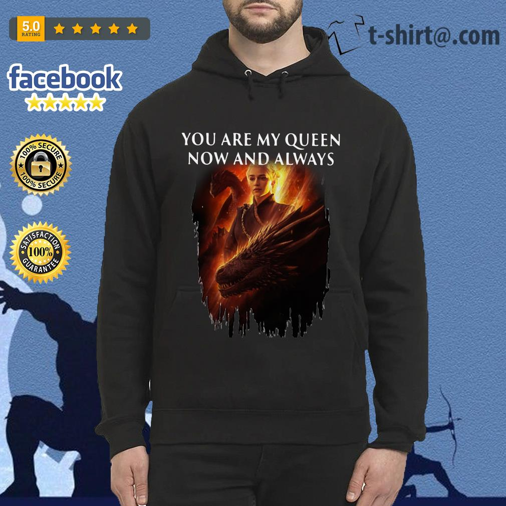 Daenerys Targaryen you are my Queen now and always Hoodie