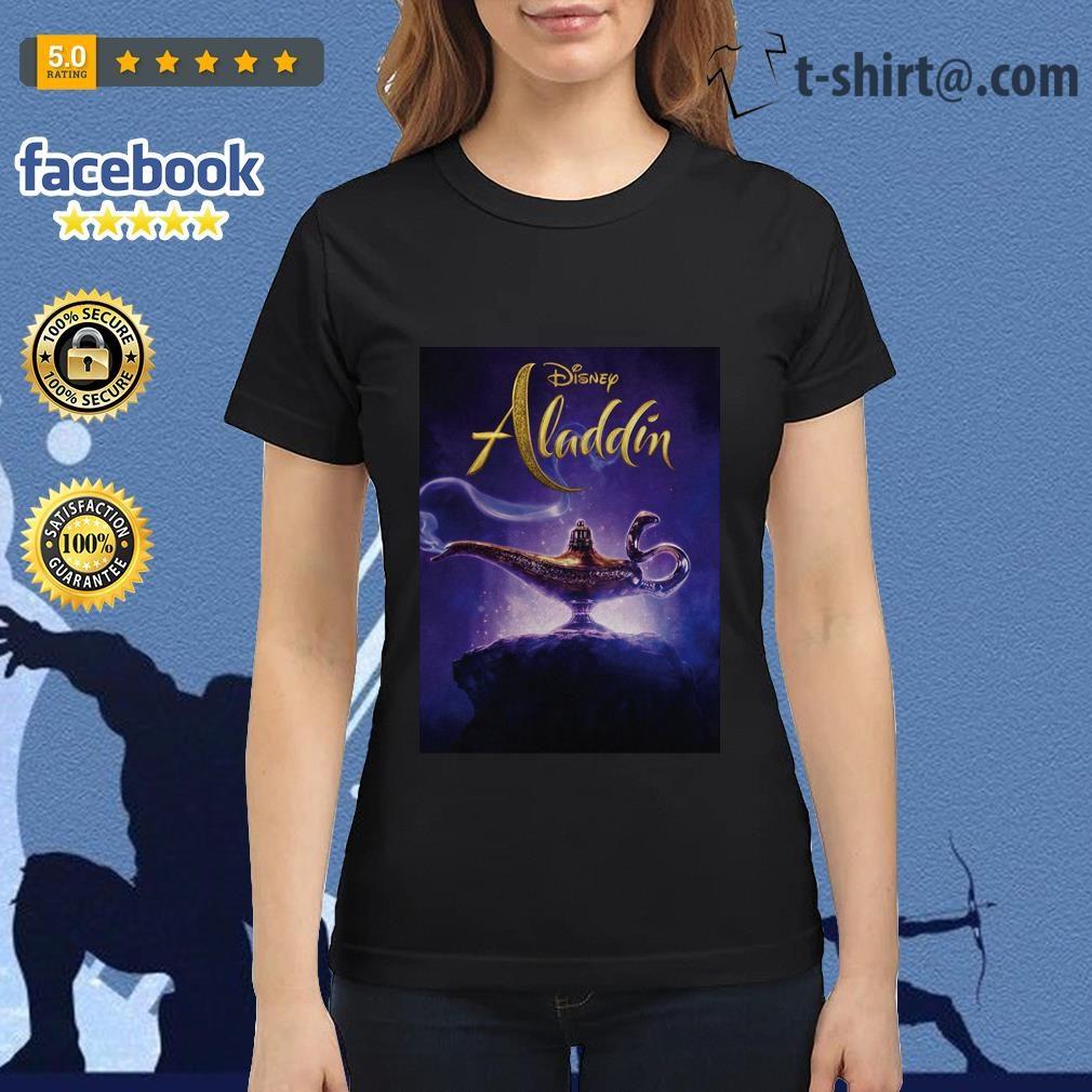 Disney Aladdin 2019 Aladdin live action cover Ladies Tee
