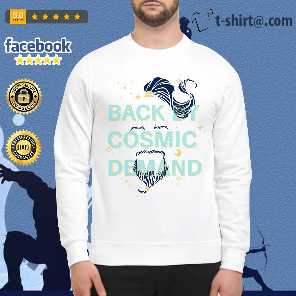 Disney Aladdin 2019 back by cosmic demand Sweater